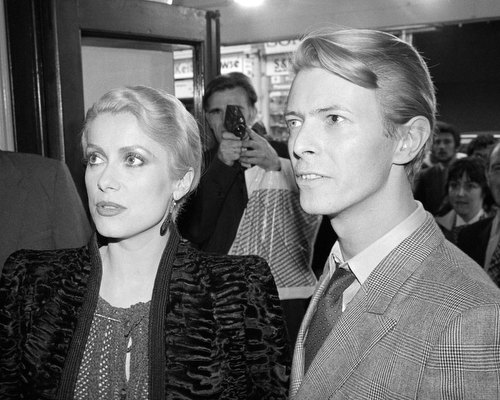 Catherine Deneuve & David Bowie, London, 1982