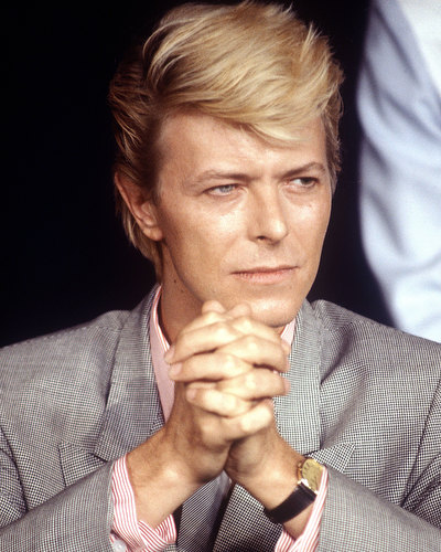 David Bowie, Cannes Film Festival, France, 1983