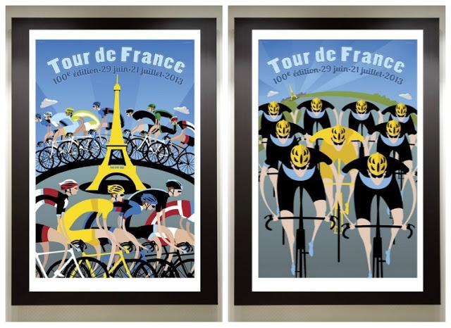 100th-Edition-Tour-de-France-Poster