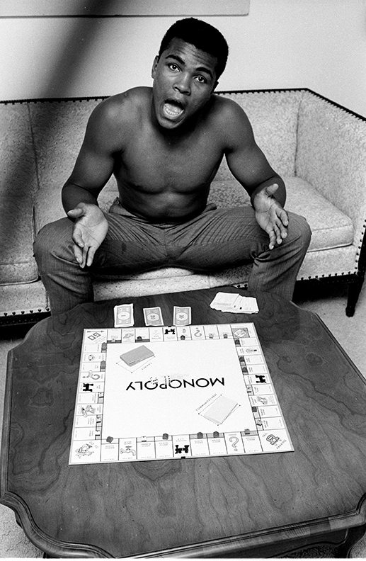 8.Muhammad Ali, Monopoly