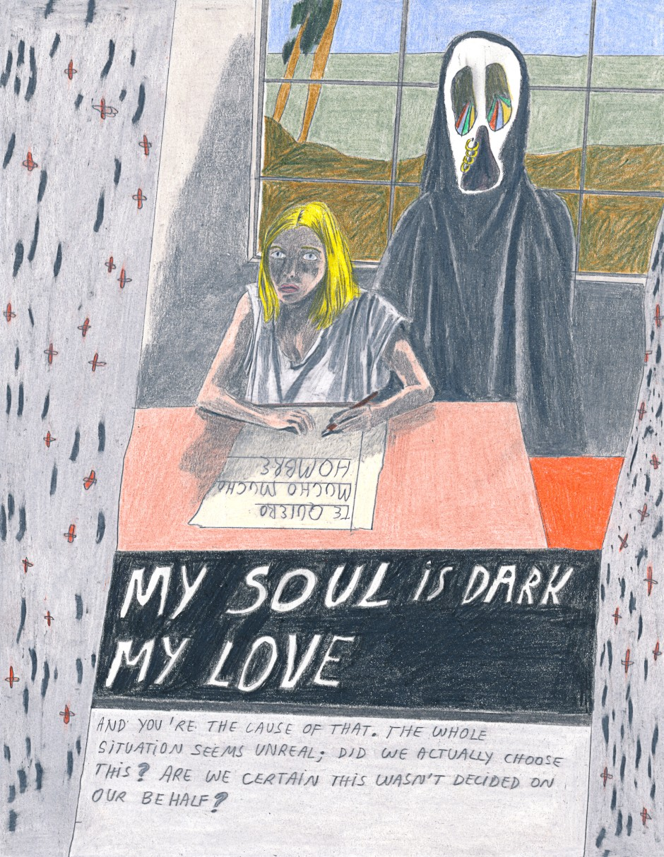 Dear love - My soul is dark