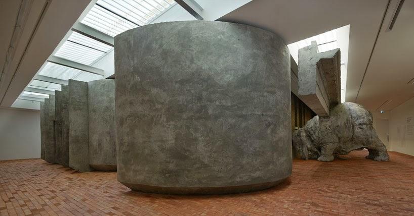 adrian-villar-rojas-exhibit-opens-serpentine-sackler-gallery-designboom-05