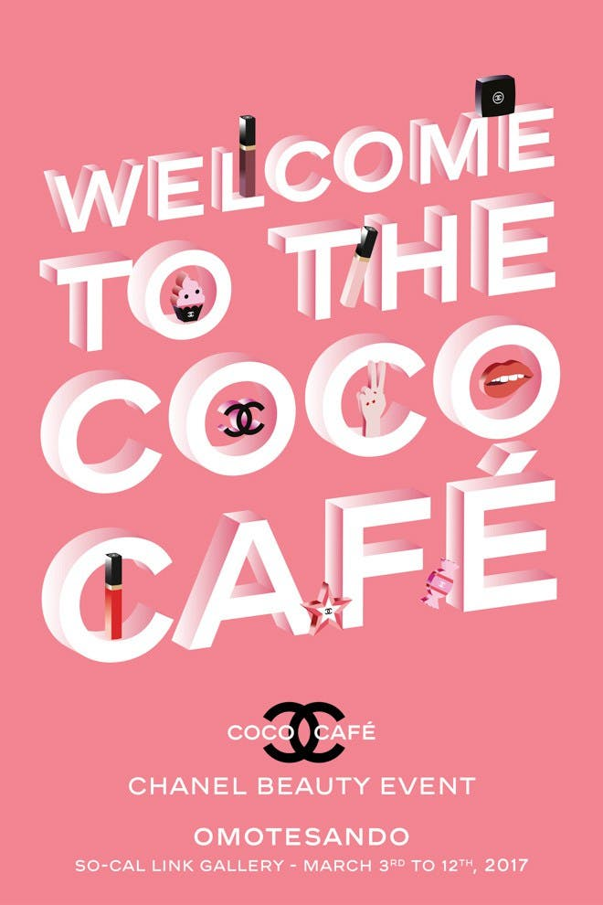 Welcome to the COCO CHANEL café - ART IS ALIVE