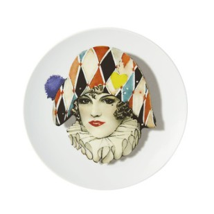 love-who-you-want-miss-harlequin-dessert-plate