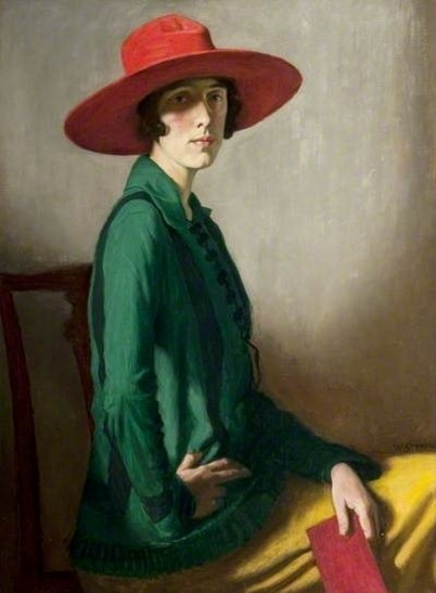 william_strang_-_lady_with_a_red_hat