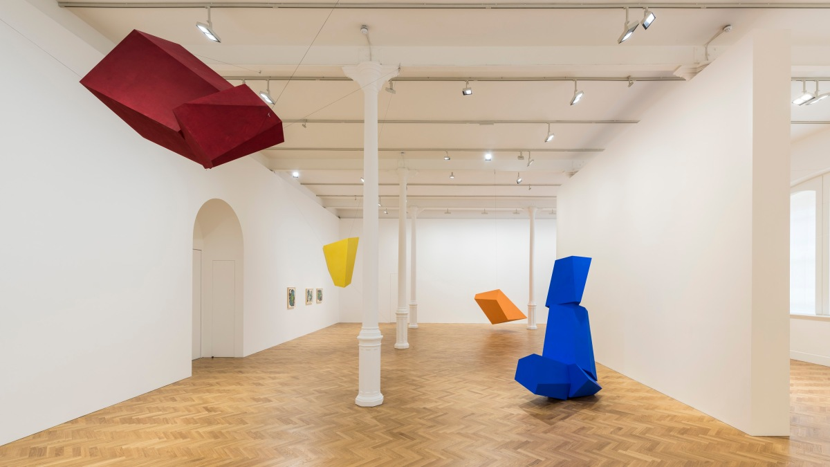 Joel Shapiro at Pace London