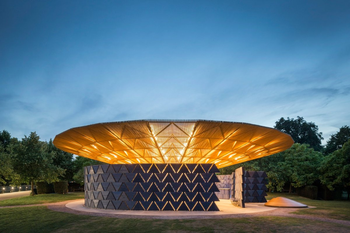 New Home Design Questionnaire Serpentine Pavilion 2017 Designed By Francis K 233 R 233 Art Is