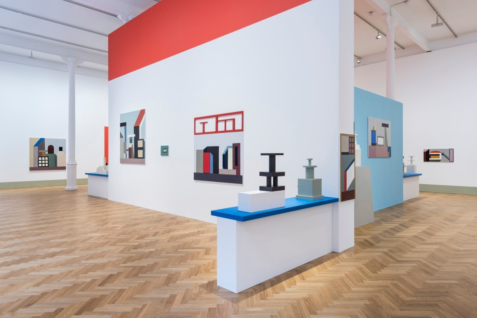 'Nathalie Du Pasquier: From time to time' installed at Pace Lond