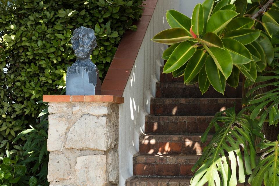'Kevin Francis Gray' installed at Jean Cocteau's Villa Santo Sos