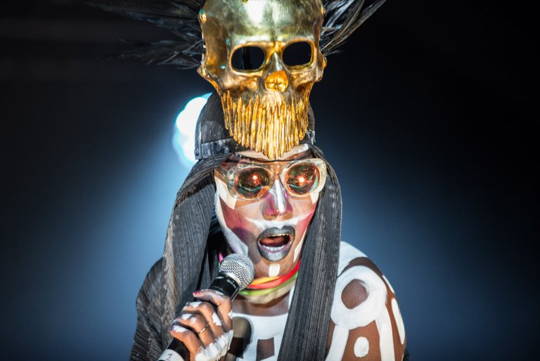 Grace Jones Performs Live at Standon Calling 2017