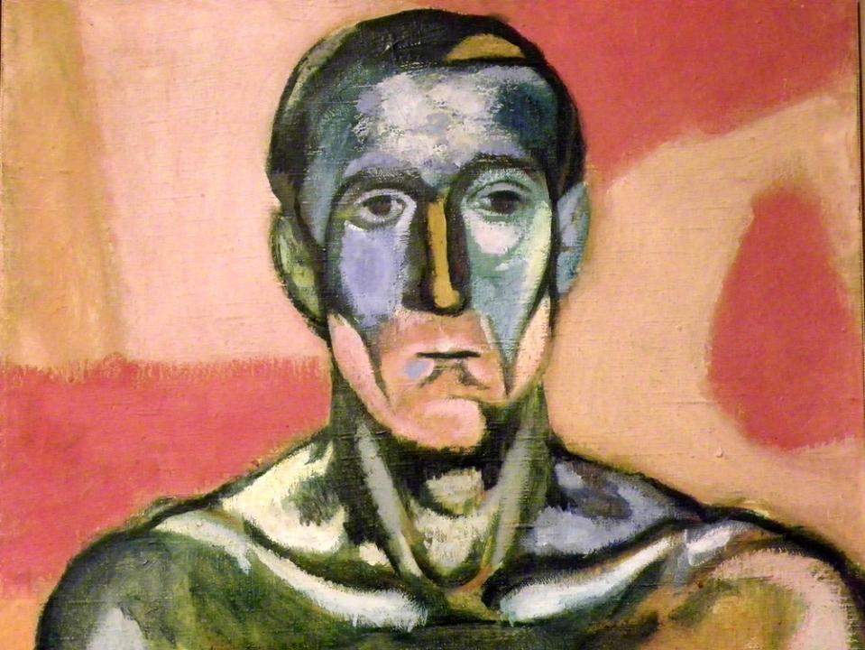 Andrzej Wróblewski - Głowa mężczyzny 1957.JPG