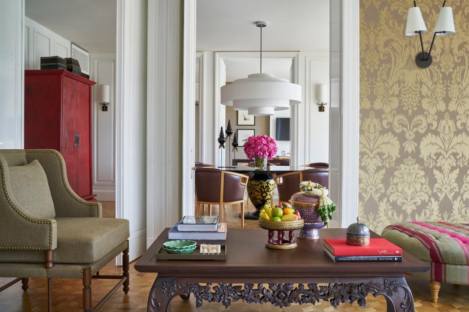 Grand Hyatt Erawan Bangkok_Erawan Suite Living Room