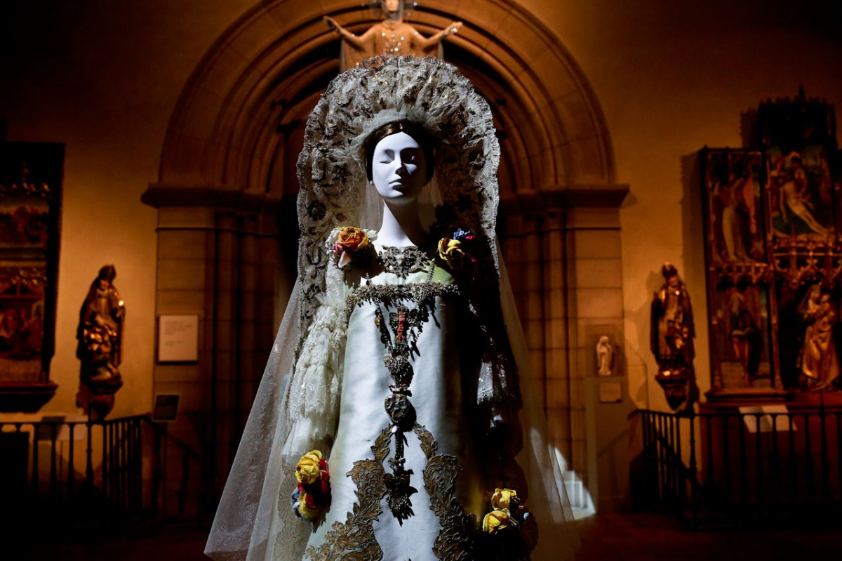 "Heavenly Bodies: Fashion and the Catholic Imagination"" opens at The Metropolitan Museum of Art"