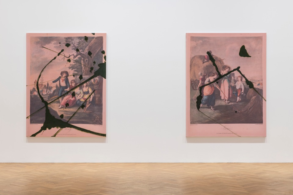 'Julian Schnabel: The re-use of 2017 by 2018. The re-use of Chri