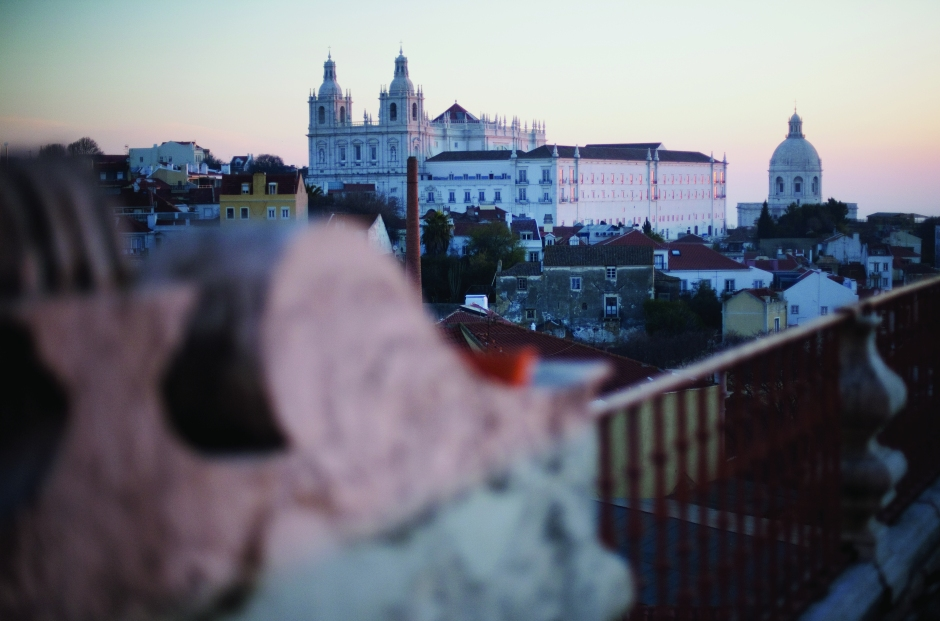Lisbon and Tagus river view from the Orient Terrace 02 © Camile de Ginestel