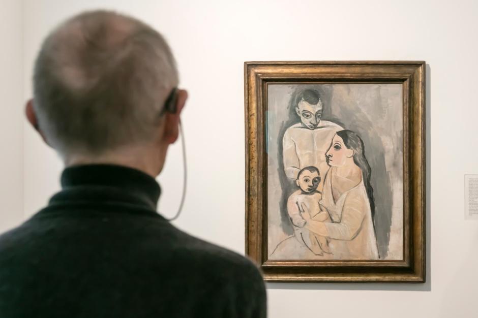 Ausstellungsansicht Kunst.Geld.Museum; Pablo Picasso: