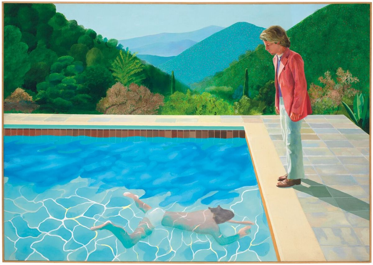 David Hockney's masterpiece at Christie's