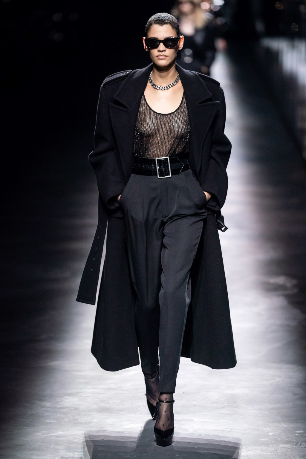 """285dbfa795b To shock people, force them to think"""" Yves Saint Laurent said to Vogue in  1971 after his famous"""" Scandal """"collection, inspired by an occupied France."""