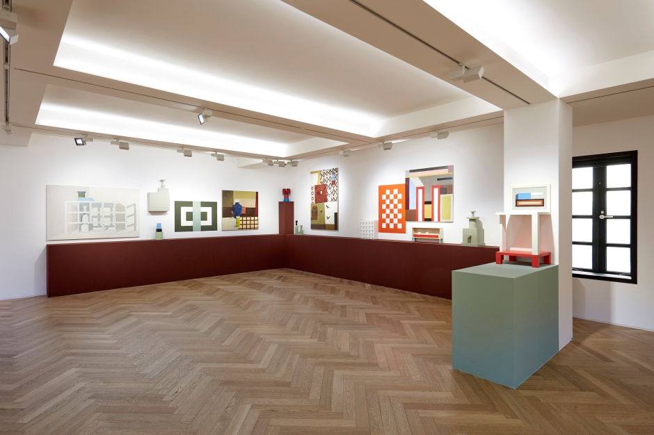 'Nathalie Du Pasquier: the strange order of things' installed at