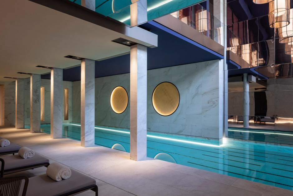Hotel Lutetia - Akasha Spa pool