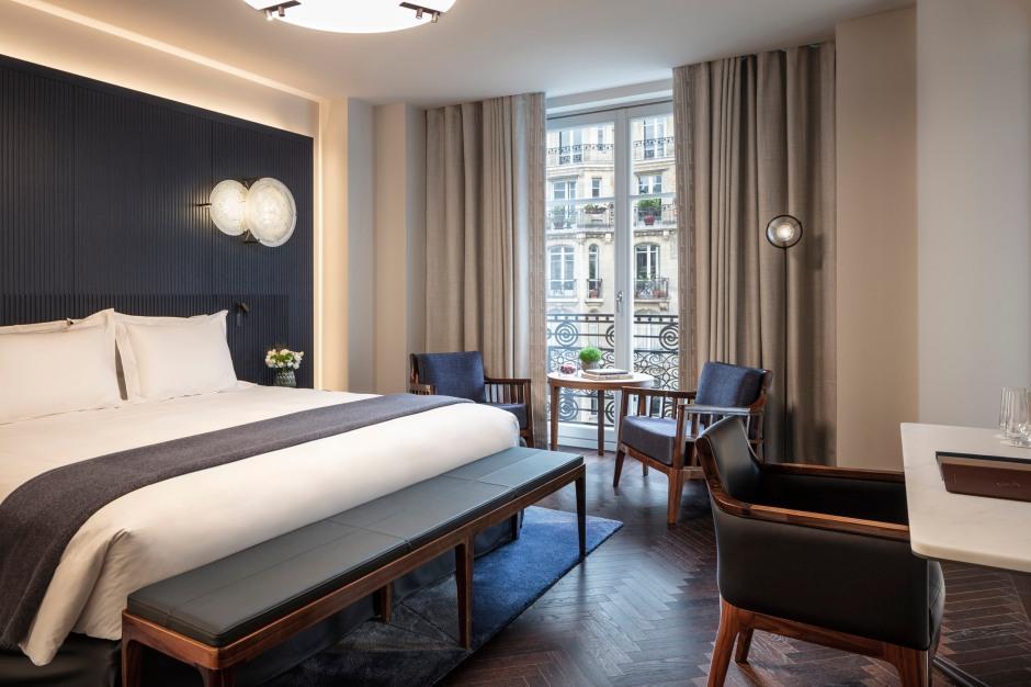 Hotel Lutetia -Deluxe room with balcony