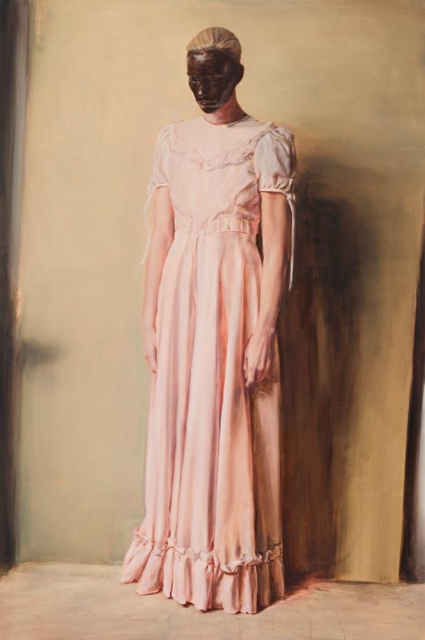 Michaël-Borremans-The-Angel-2013-oil-on-canvas-300-x-200-cm-Courtesy-Zeno-X-Gallery-Antwerp-photo-Peter-Cox-Courtesy-Zeno-X-Gallery-Antwerp